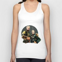 pacific rim Tank Tops featuring pacific rim by chazstity