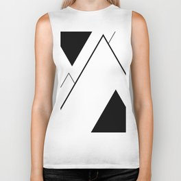 Minimal Mountains Biker Tank