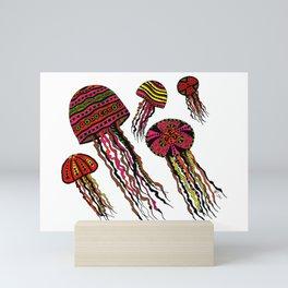 Floating Around Mini Art Print
