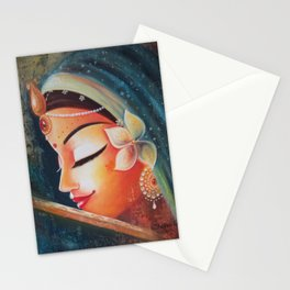 Touched By Your Lips Stationery Cards