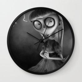 Weird Girl Wall Clock