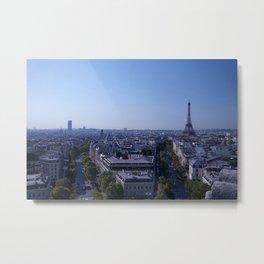 Morning in Paris Metal Print