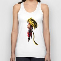 vegeta Tank Tops featuring SS3 Vegeta by Prince Of Darkness