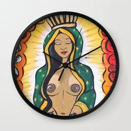 La Virgen de Guadalupe Wall Clock