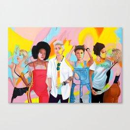 Womxn Canvas Print