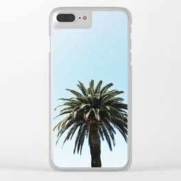 Palm Tree in San Diego, California Clear iPhone Case