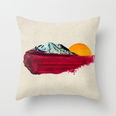nature anthem Throw Pillow