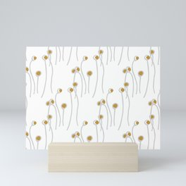 Winter Berry's White Mini Art Print