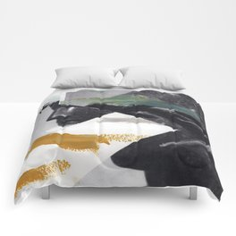 Untitled (Painted Composition 2) Comforters