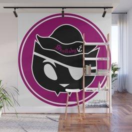 Skullaby Cat Logo Wall Mural