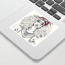 #STUKGIRL SKY Sticker