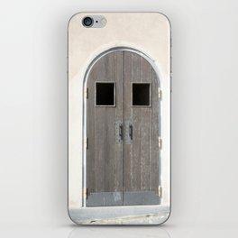 antique door iPhone Skin