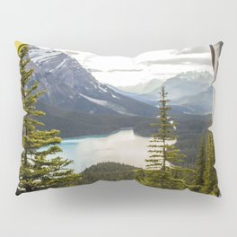 LAKE - MAN - FEET - TENT - PHOTOGRAPHY Pillow Sham