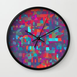 run through with the sounds Wall Clock