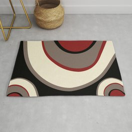 """""""Abstract Retro Waves"""" Rug"""