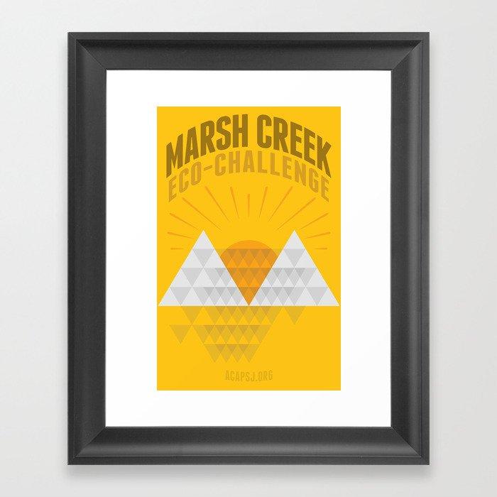 Marsh Creek Eco-Challenge 2015; Shirt Art Framed Art Print