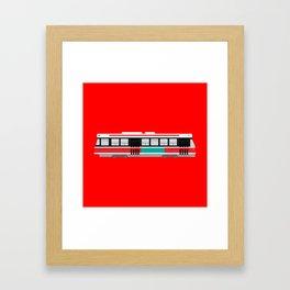 Toronto TTC Streetcar Framed Art Print