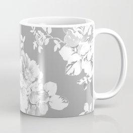 Gothic White Roses Coffee Mug