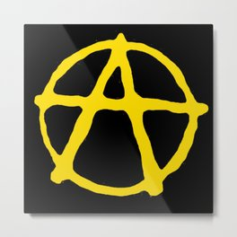 Anarcho-Capitalism Metal Print