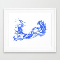 final fantasy Framed Art Prints featuring FINAL FANTASY X  by DrakenStuff+