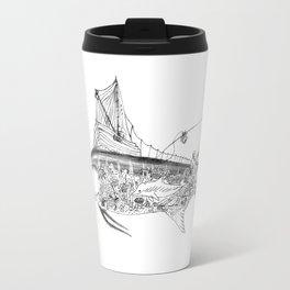Fisherman Marlin Travel Mug