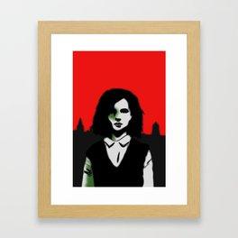 Oxford Girl Framed Art Print
