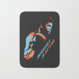 Impossible is Nothing - M. Ali boxer tribute Bath Mat