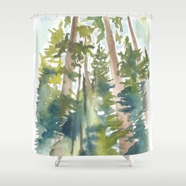 Ponderosa KAt Ryalls Shower Curtain