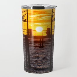 Watching The Sunset Travel Mug