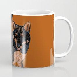 Black dingo (c) 2017 Coffee Mug