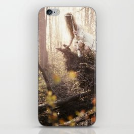 Lady of the Bog iPhone Skin