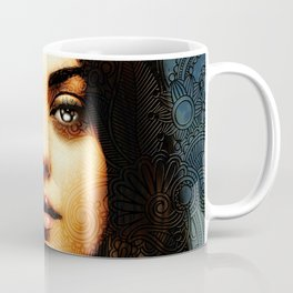 Portrait of Mila Kunis #1 Coffee Mug