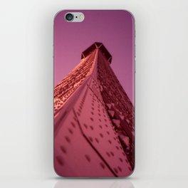 Purple Eiffel  iPhone Skin
