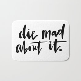 Die Mad About It Bath Mat