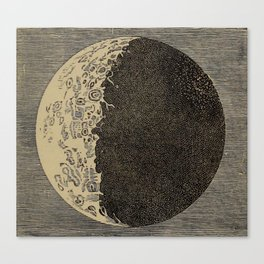 Five Day Moon Canvas Print