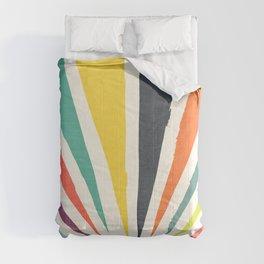 Rainbow ray Comforters