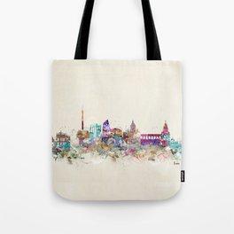 rome skyline vintage Tote Bag