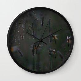 night's lodging Wall Clock