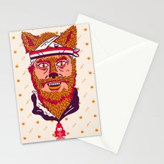 Crack Fox Stationery Cards