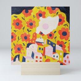 Flower Woman Mini Art Print