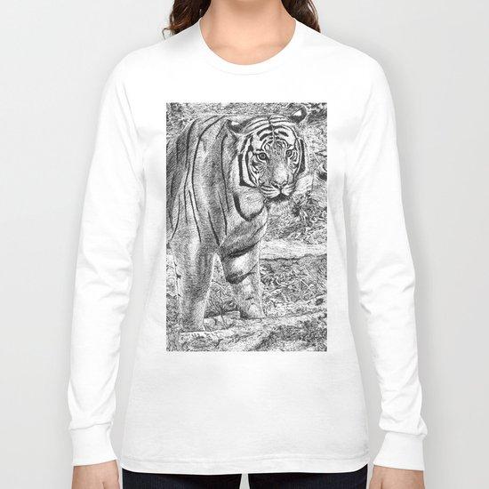 Malayan Tiger (Harimau) Long Sleeve T-shirt