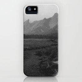 Moody Flatirons iPhone Case