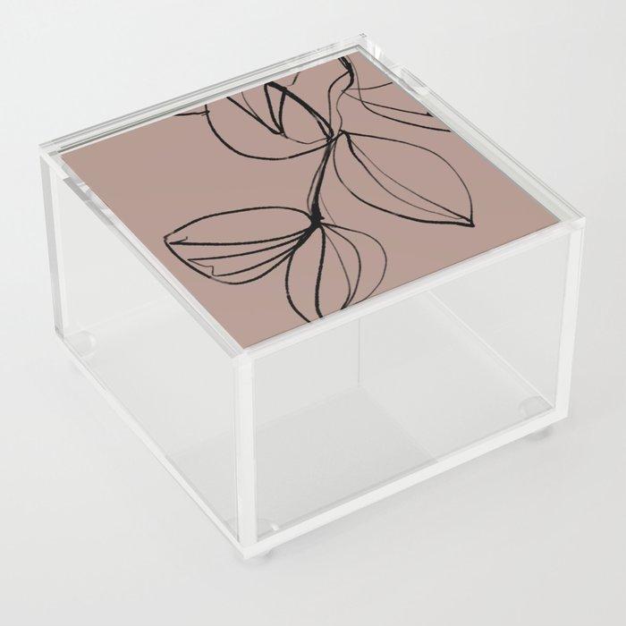 FALL LEAVES Acrylic Box