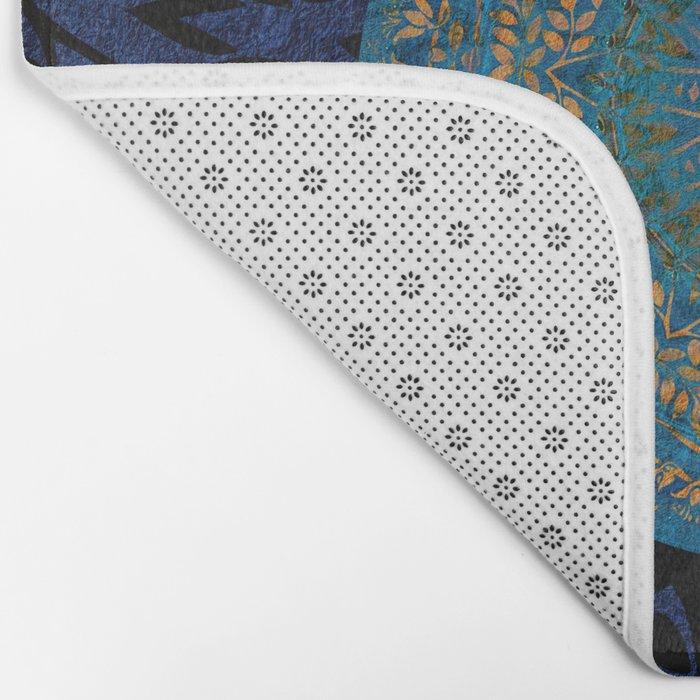Ornament Pattern Mandala Bath Mat