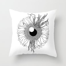 I See Beauty Until the End Throw Pillow