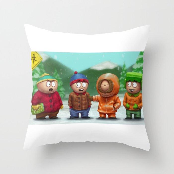 SP Boys Throw Pillow