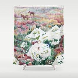 Wild chamomiles Shower Curtain