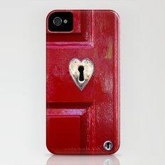 Heart Shaped Lock iPhone (4, 4s) Slim Case