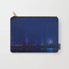 Galveston Pleasure Pier At Night Carry-All Pouch
