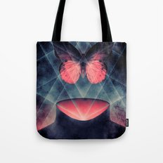 Beautiful Symmetry Butterfly Tote Bag